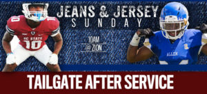 Jeans & Jersey Sunday @ New Mount Zion Church